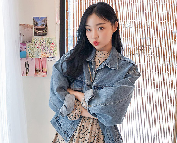 Picture Perfect Denim Jacket by Chuu