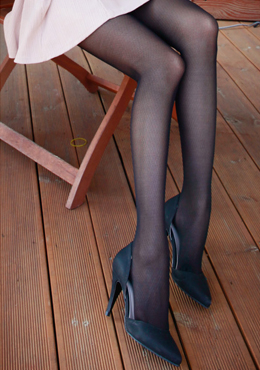 Lattice Patterned Stockings