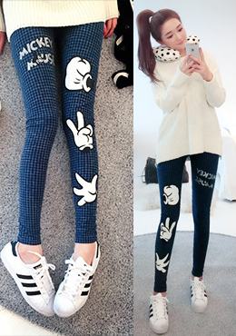 Rock Paper Scissors Leggings