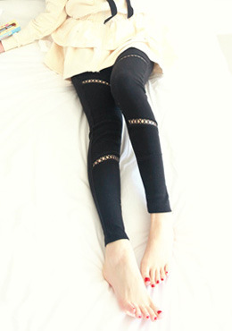 X Cut Out Leggings