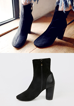 Lether Point Chelsea Boots Heels