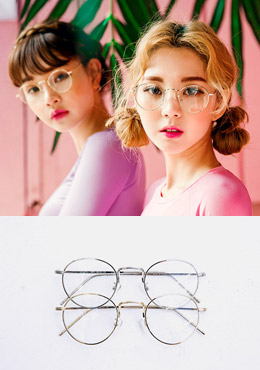 Circle Shape Glasses