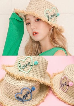 Love Point Straw Hat