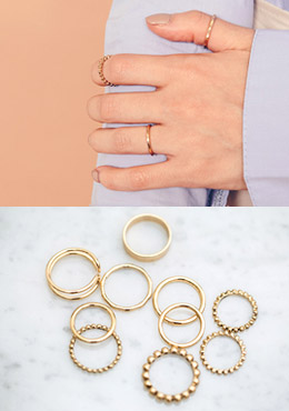 5 Shape Rings