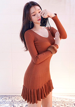 Pumpkin Party Dress