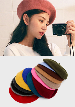 Color The Rainbow Beret