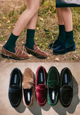 Rim Edge Detail Basic Loafers