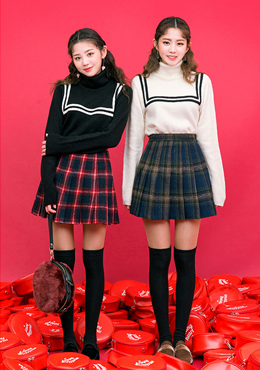 School Girl Knit Sweater
