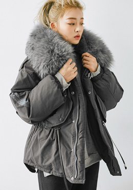 Falling Into Dreamland Padded Jacket