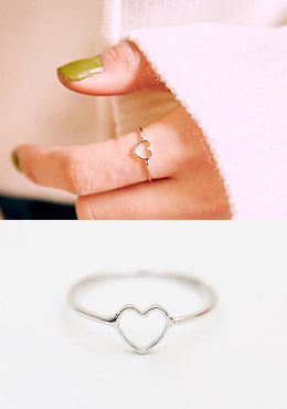 Inside A Heart Ring