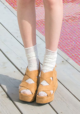 Standing Here Wedge Sandals