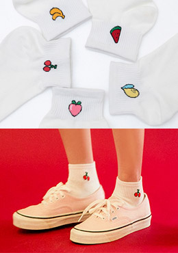 [CHU] Choose Your Fruit Socks