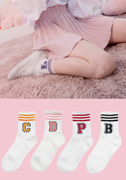 [CHU] Pick The Alphabet Socks