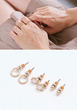 How You Have Been Ring&Earring Set
