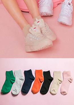 [CHU] Daily Color Socks