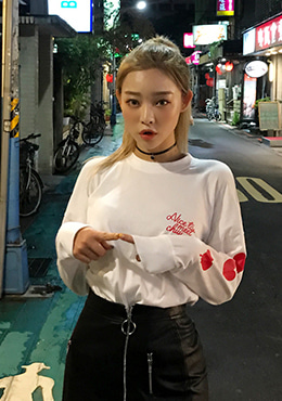 nice to meet chuu heart tee