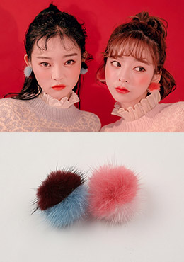 The Fuzzy Wuzzy Earrings