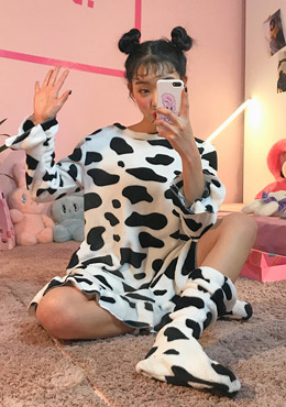 Pure milk pajama