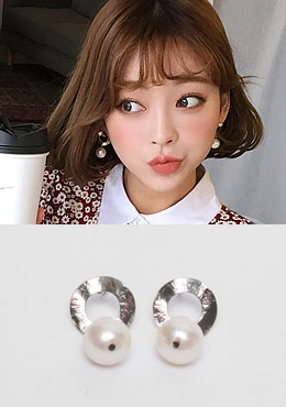 Comet Pearl Earrings