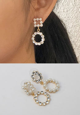 Bubbly Pearl Earrings