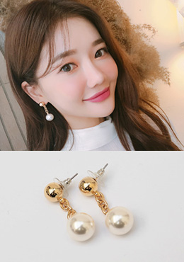 Dear Blossom Pearl Earrings