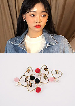 [CHUU] Hearty Spells Earring