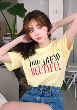You Are So Beautiful To Me Tee