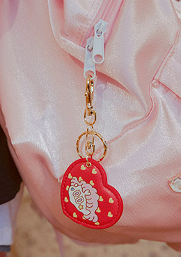 LEEGONG Pinknoir School Life Key Ring