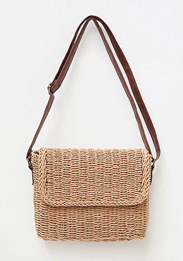Need A Little Space Straw Bag