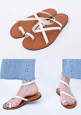 Little Boy Cross Strap Sandal