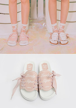 Lovely Cotton Candy Shoes