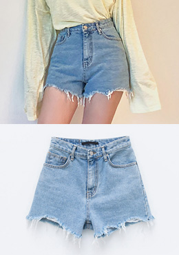 Life Is Good Denim Shorts