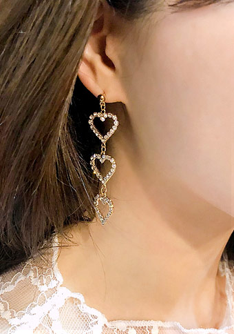 Need Your Heart Drop Earring