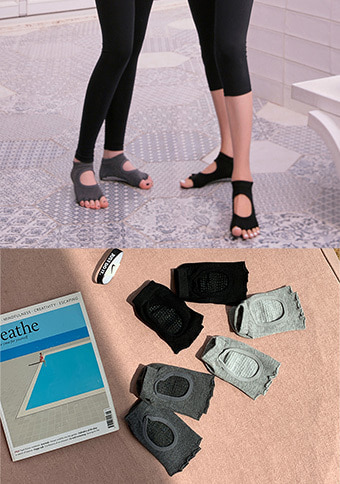Open Toe Yoga Socks