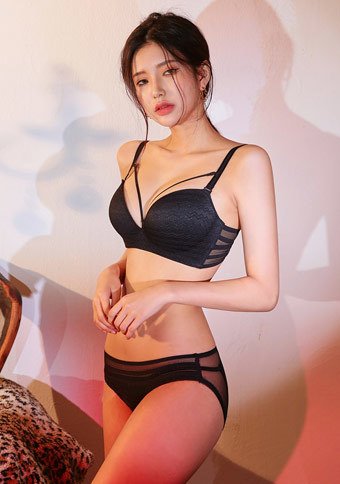 Side Lines Bra + Pantie Set