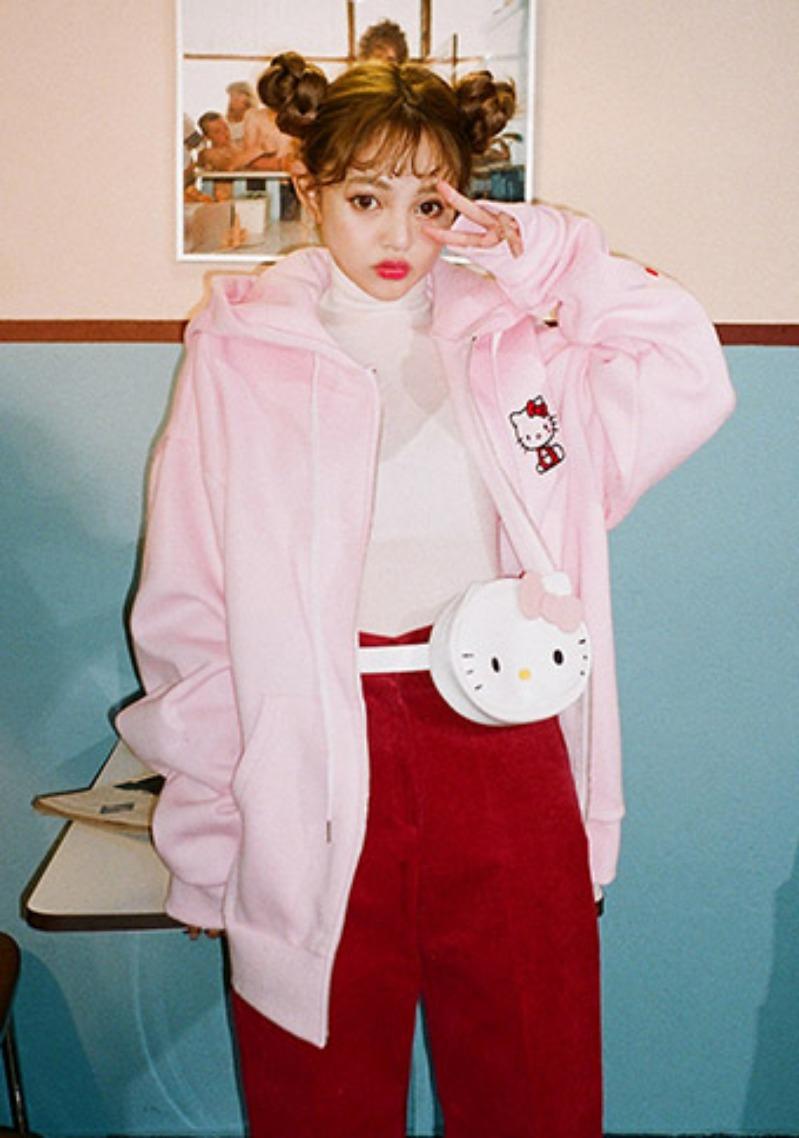 hello-kitty-x-chuu-lovely-kitty-bum-bag by chuu