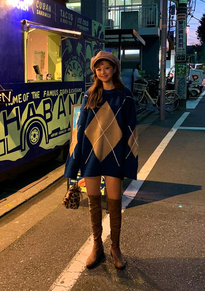 big-diamond-loose-fit-knit by chuu