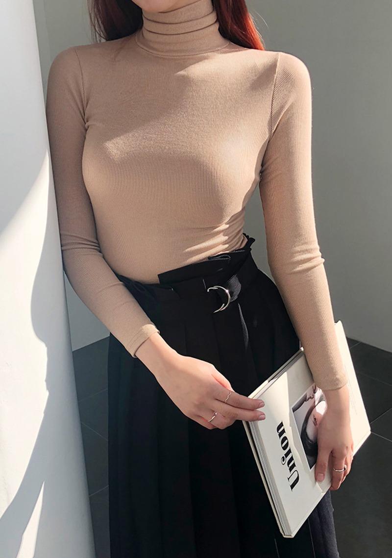 [adan]-tight-turtleneck-basic-knit by chuu