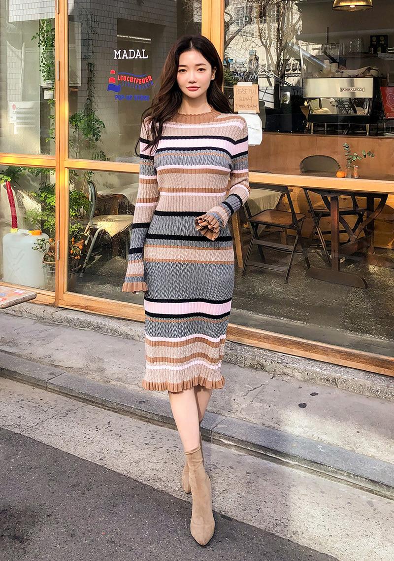 bodycon-ribbed-knit-dress by chuu