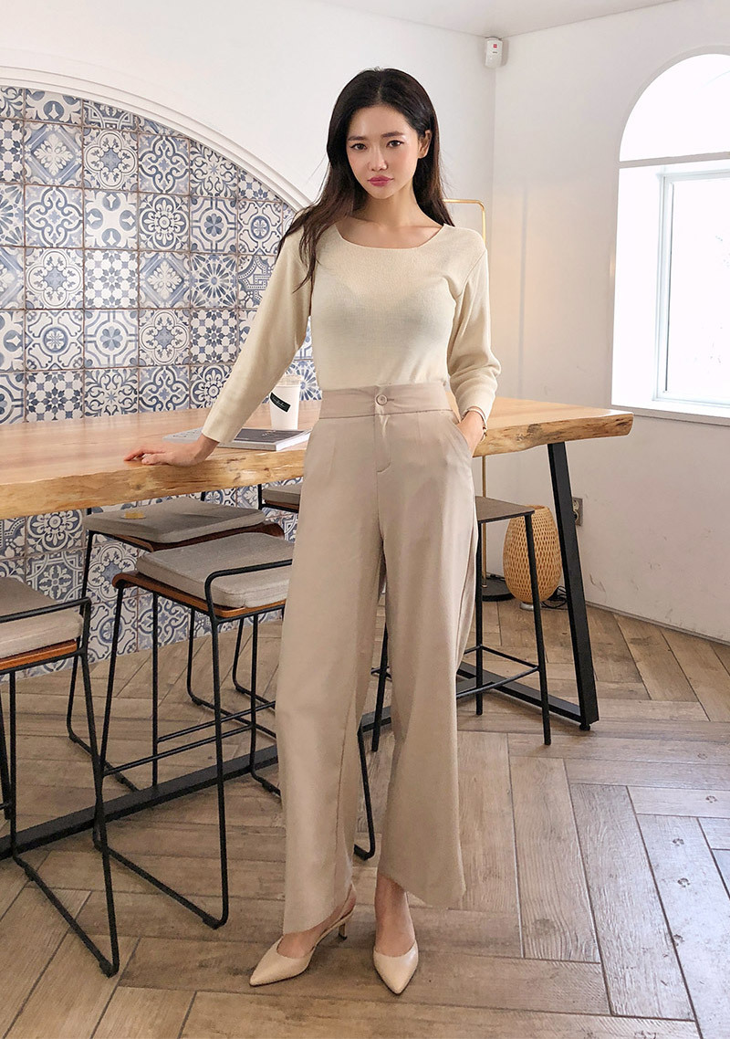 Long Legs Wide Slacks by Chuu