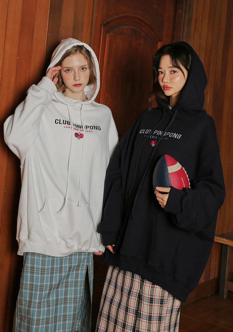 pingpong-club-classic-sport-logo-hoodie by chuu