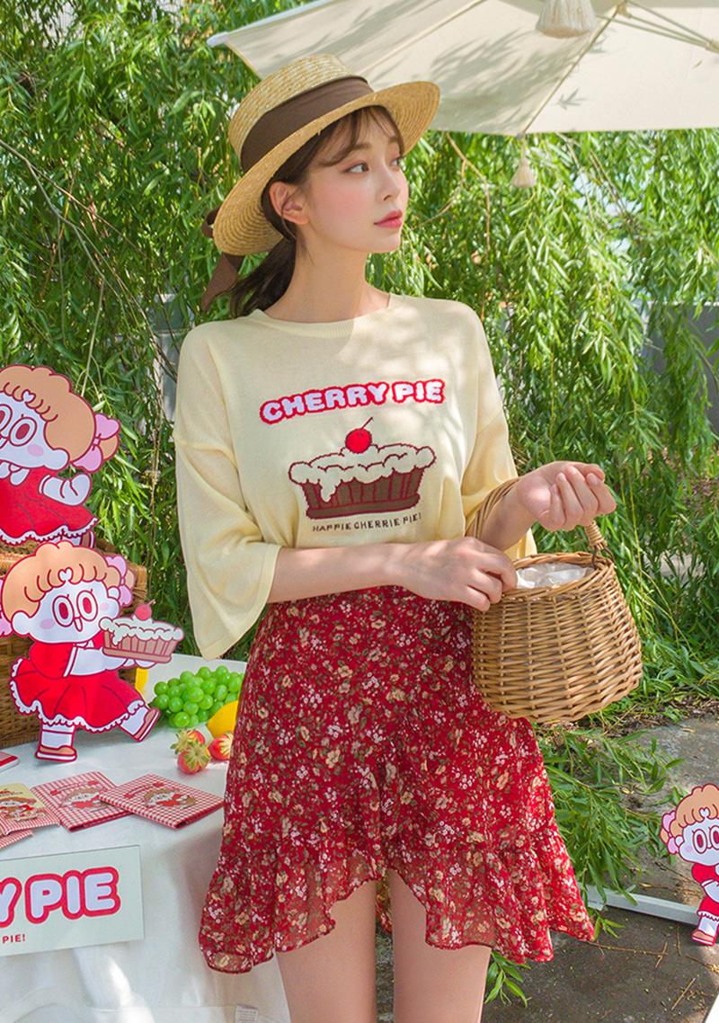 cherry-pie-leegong-bowl-of-cherries-knit-top by chuu