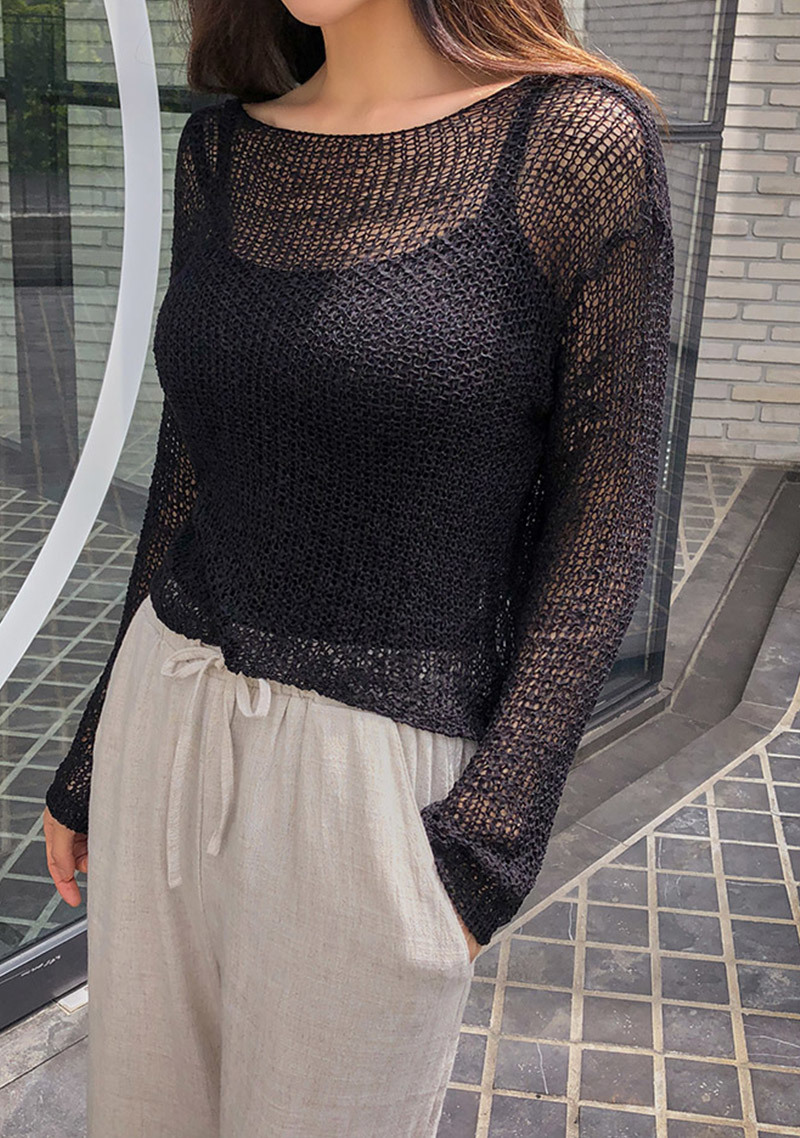 love-me-this-summer-knit-top by chuu
