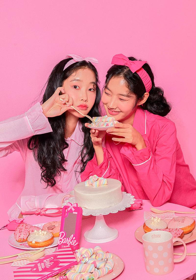 Barbie Room. Ruffle Set Up Pajama by Chuu