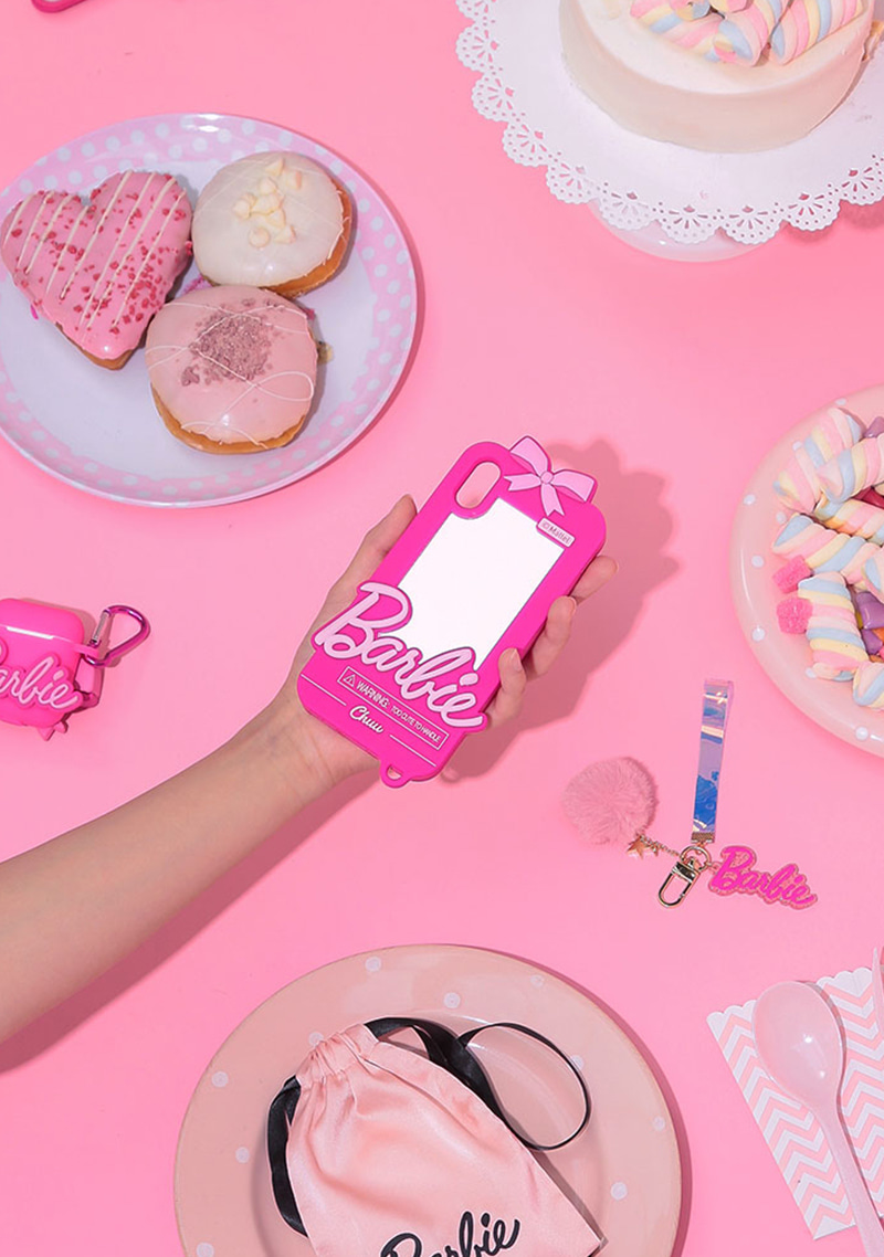 Barbie Room. Pink Ribbon Phone Case by Chuu